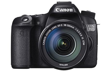 Canon EOS 70D en face