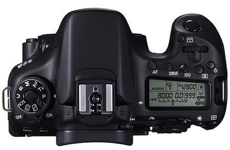 Canon EOS 70D shora