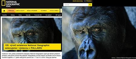National Geographic: Výstava k 125. výročí