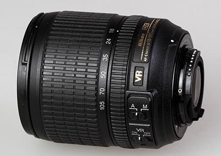 Nikon DX AF-S Nikkor 18–105 mm 1:3,5–5,6G ED VR