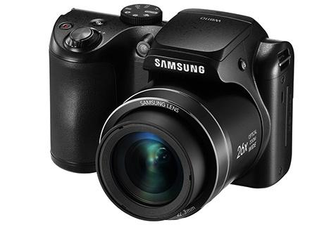 Samsung WB110 - klasický 3/4 pohled