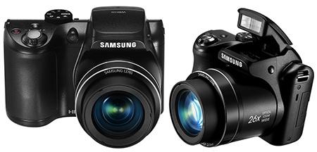 Samsung WB110 - klasický černý