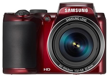 Samsung WB110 - en face