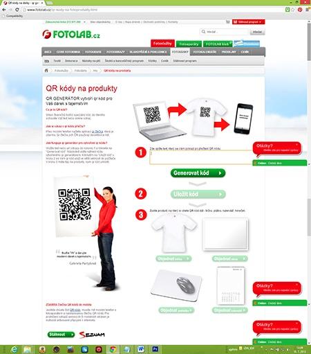 FOTOLAB - QR kód