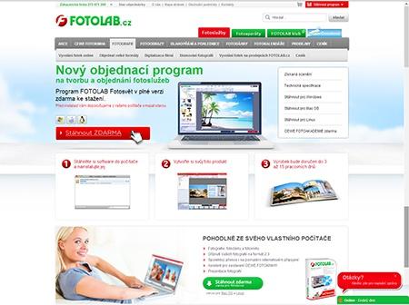 FOTOLAB - nový objednávkový program
