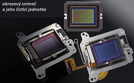 Canon EOS 70D - obrazový snímač s čisticí jednotkou