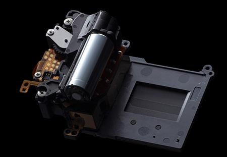 Canon EOS 70D - jednotka závěrky