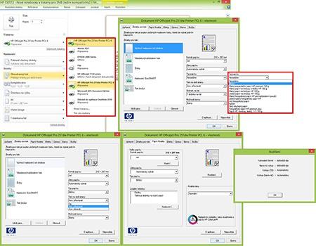 HP Officejet Pro 251dw - oboustranný tisk II
