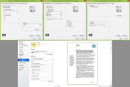HP Officejet Pro 251dw - oboustranný tisk III