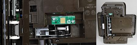 HP Officejet Pro 251dw - spodní část