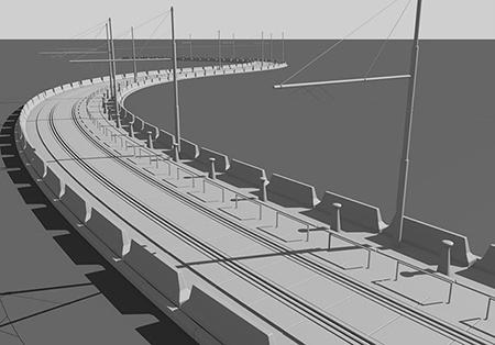 návrh podoby koridoru