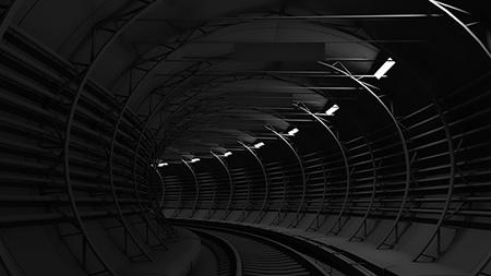 finální verze tunelu