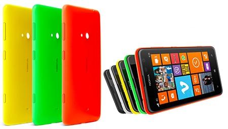 Nokia Lumia 625 - pestré barvy a výměnné kryty