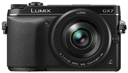 Panasonic Lumix GX7 en face