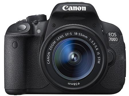 Canon EOS 700D en face