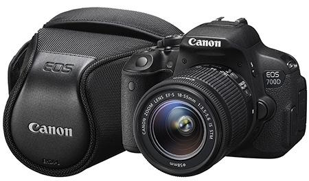Canon EOS 700D a pouzdro FS1