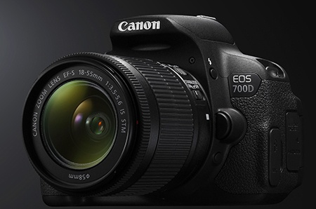 Canon EOS 700D v testu