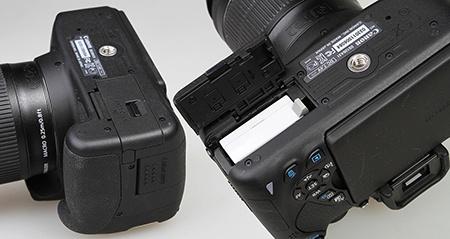 Canon EOS 700D - Li-ion baterie