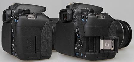 Canon EOS 700D - slot na kartu SD/SDHC/SDXC