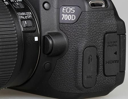 Canon EOS 700D - kontrola hloubky ostrosti