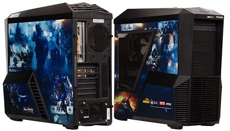nové herní sestavy počítačů HAL3000 Grunex
