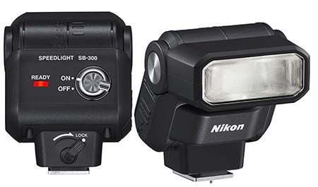 Nikon Speedlight SB-300 - zezadu a zepředu