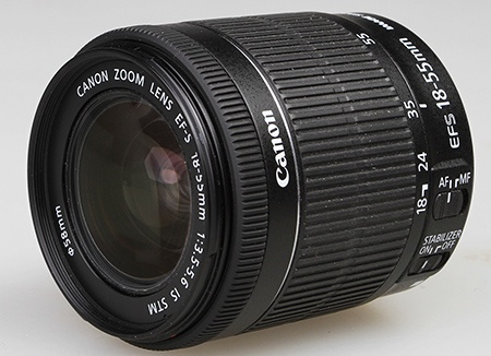 Canon EF-S 18–55 mm 1:3,5–5,6 IS STM
