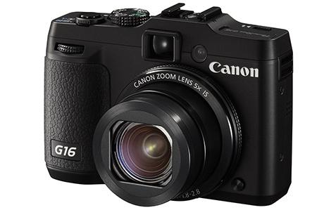 Canon PowerShot G16 - klasický 3/4 pohled