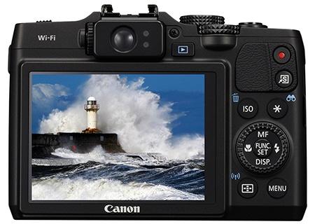 Canon PowerShot G16 - displej a hledáček