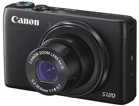 Canon PowerShot S120 - klasický 3/4 pohled