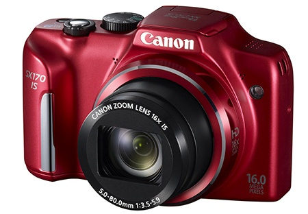 Canon PowerShot SX170 IS - 3/4 pohled