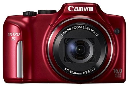 Canon PowerShot SX170 IS zepředu