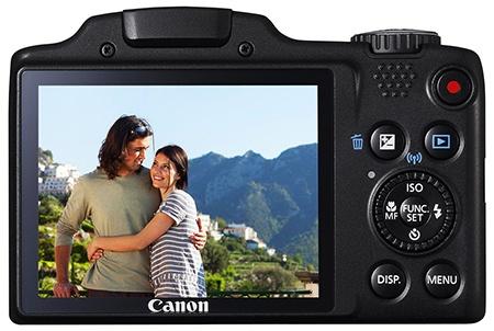Canon PowerShot SX510 HS - displej