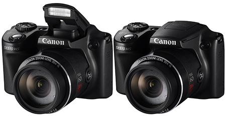 Canon PowerShot SX510 HS - blesk