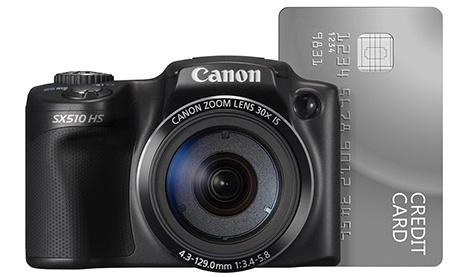Canon PowerShot SX510 HS - malé rozměry a nízká váha