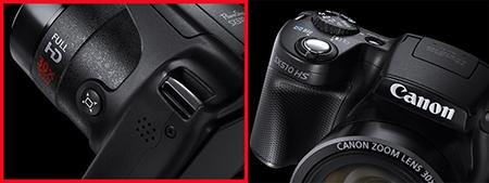 Canon PowerShot SX510 HS - detaily
