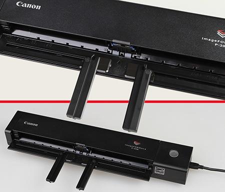 Canon imageFORMULA P208 - podavač a posuvné vodicí lišty