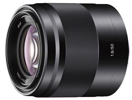 Sony E 50 mm F1,8 - černá verze