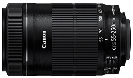 Canon EF-S 55–250 mm 1:4,0–5,6 IS STM