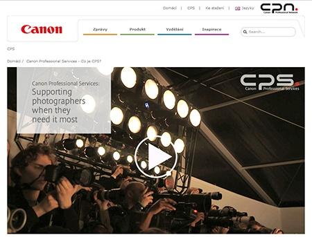CPS - Canon Profi Services a ČR