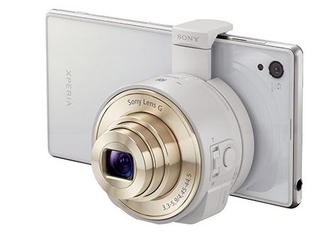 DSC-QX10 + Xperia i1