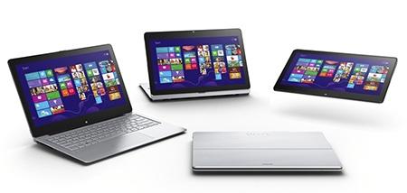 konvertibilní notebook VAIO Fit multi-flip