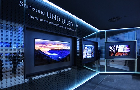 Samsung řady UHD OLED TV I