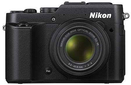 Nikon Coolpix P7800 - front