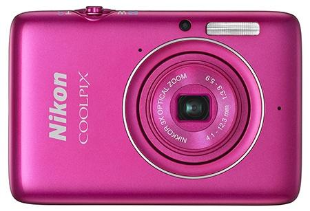 Nikon Coolpix S02 - růžový