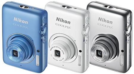Nikon Coolpix S02 - další tři barvy