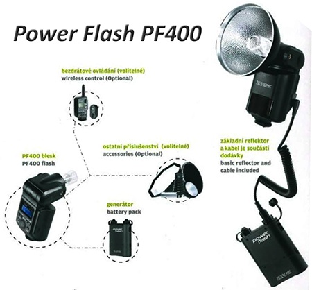 Terronic Power Flash PF400
