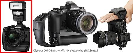 Olympus OM-D E-M1 - různé příslušenství - příklady
