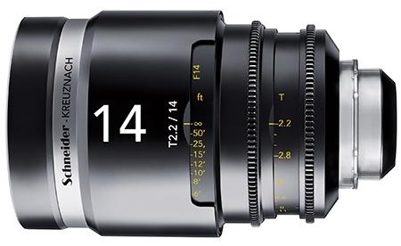 Schneider-Kreuznach Cine-Xenar III T2,2/14 mm
