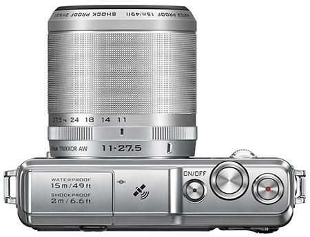 Nikon 1 AW1 shora